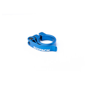 Sixpack Menace Seat Clamp Ø31,8mm, blue